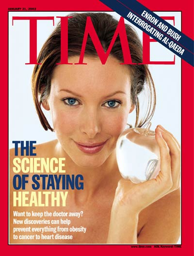 TIME Magazine Cover: The Science of Staying Healthy -- Jan. 21, 2002