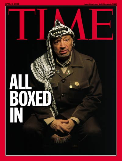 TIME Magazine Cover: Yasser Arafat -- Apr. 8, 2002