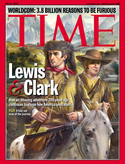 TIME Magazine Cover: Lewis & Clark -- July 8, 2002