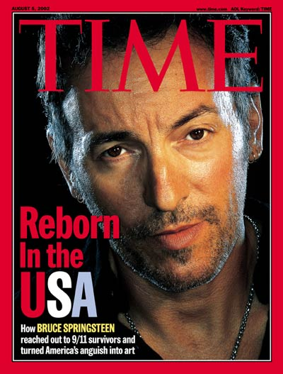 TIME Magazine Cover: Bruce Springsteen -- Aug. 5, 2002