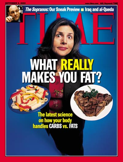 TIME Magazine Cover: Carbs and Fats -- Sep. 2, 2002