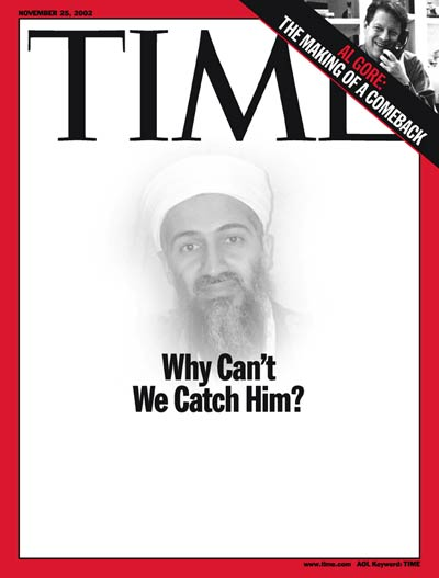 TIME Magazine Cover: Osama bin Laden -- Nov. 25, 2002