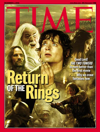 TIME Magazine Cover: Return of the Rings -- Dec. 2, 2002