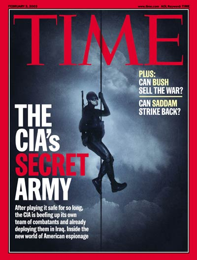 TIME Magazine Cover: The CIA's Secret Army -- Feb. 3, 2003