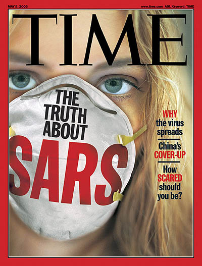 Rise of the severe respiratory disease called SARS