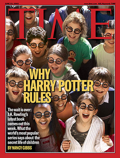 TIME Magazine Cover: Why Harry Potter Rules -- June 23, 2003