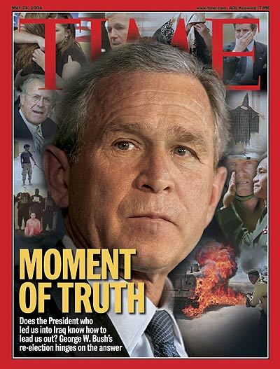 Photomontage (George W. Bush photo by Brooks Kraft)