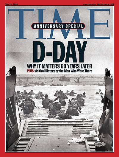 TIME Magazine Cover: D-Day -- May 31, 2004