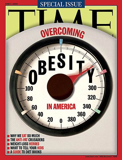 TIME Magazine Cover: Overcoming Obesity in America -- June 7, 2004