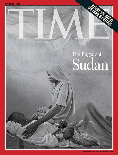 TIME Magazine Cover: The Tragedy of Sudan -- Oct. 4, 2004