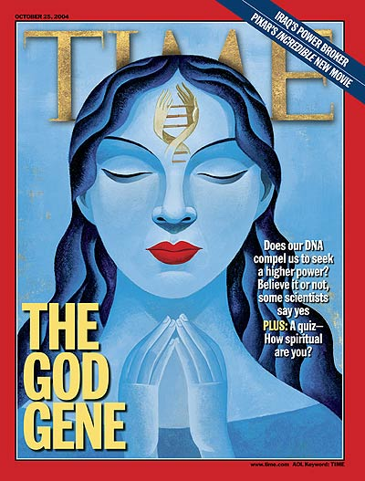 TIME Magazine Cover: The God Gene -- Oct. 25, 2004