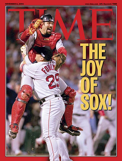 TIME Magazine Cover: The Joy of Sox -- Nov. 8, 2004
