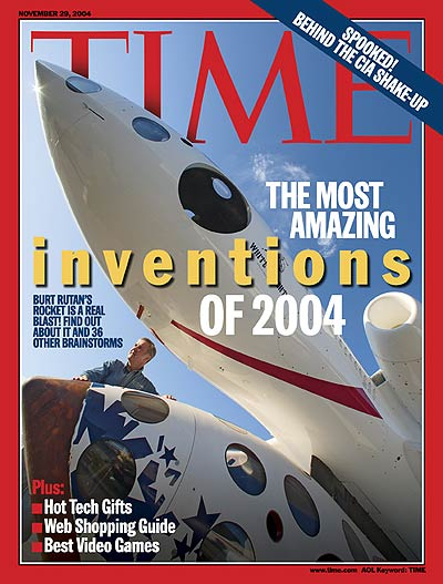 TIME Magazine Cover: The Most Amazing Inventions of 2004 -- Nov. 29, 2004