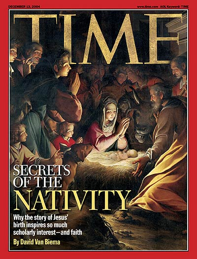 TIME Magazine Cover: Secrets of the Nativity -- Dec. 13, 2004