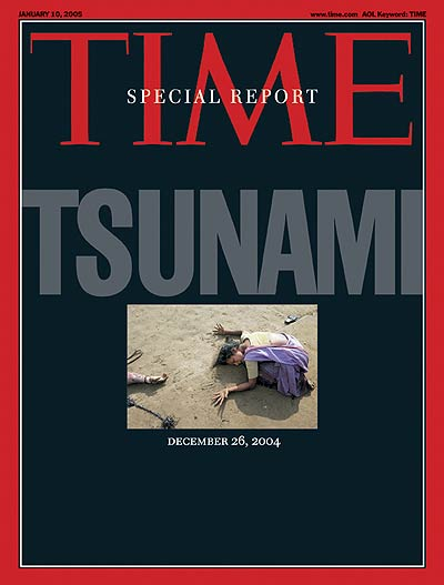 TIME Magazine Cover: Tsunami -- Jan. 10, 2005
