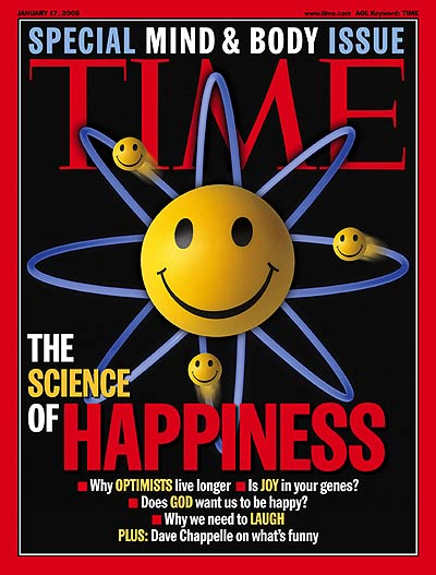 TIME Magazine Cover: The Science of Happiness -- Jan. 17, 2005