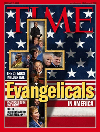 TIME Magazine Cover: The Most Influential Evangelicals in America -- Feb. 7, 2005
