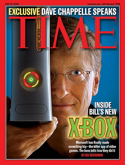 TIME Magazine Cover: Inside Bill's New X-Box -- May 23, 2005