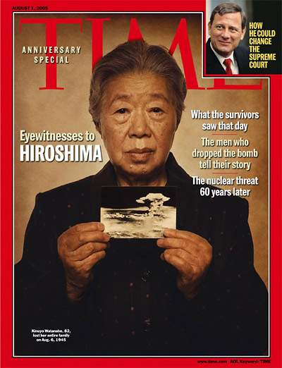 TIME Magazine Cover: Eyewitnesses to Hiroshima -- Aug. 1, 2005
