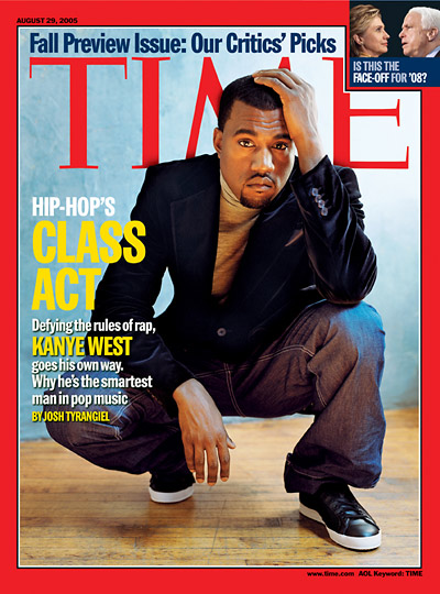 TIME Magazine Cover: Kanye West - Aug. 21, 21 - Singers - Hip ... | title | magazine west