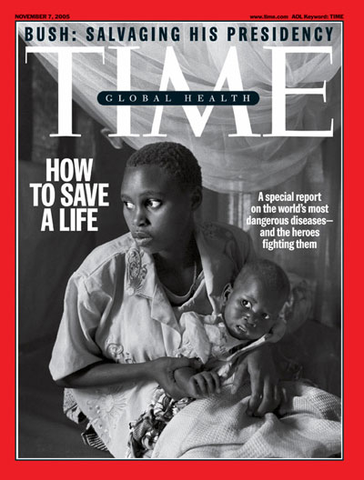 TIME Magazine Cover: How to Save A Life -- Nov. 7, 2005