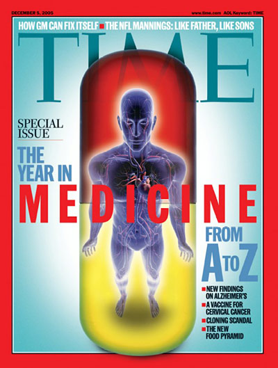 TIME Magazine Cover: The Year in Medicine from A to Z -- Dec. 5, 2005