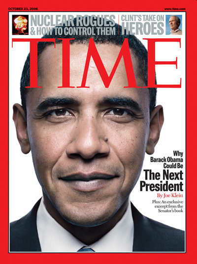 TIME Magazine Cover: Why Barack Obama Could Be The Next President ...