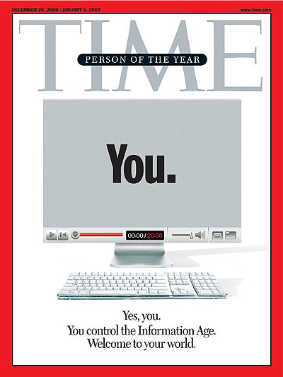 Time Person of the Year - YOU