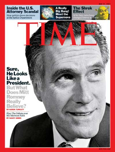 Sure, He Looks Like a President. But What Does Mitt Romney Really Believe?