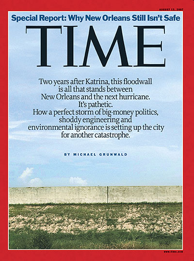 Time Magazine Aug 13 2007