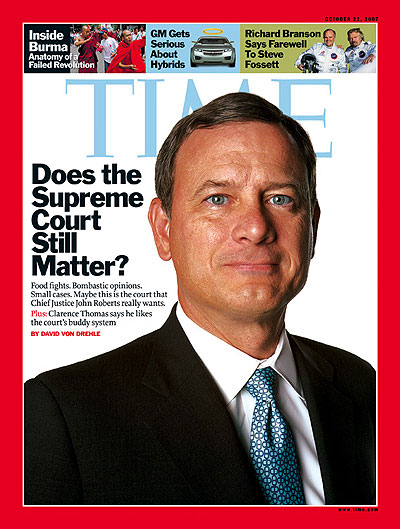 Does the Supreme Court Still Matter?Portrait of Chief Justice John Roberts