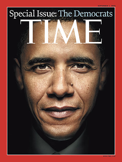 TIME Magazine Cover: The Democrats - Sep. 1, 2008 - Barack ...