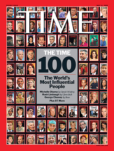 Covers of The Most Influential People in The World