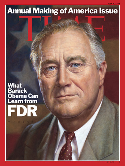 Portrait of Franklin Delano Roosevelt