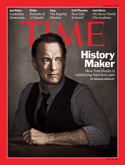 How Tom Hanks is redefining America's past