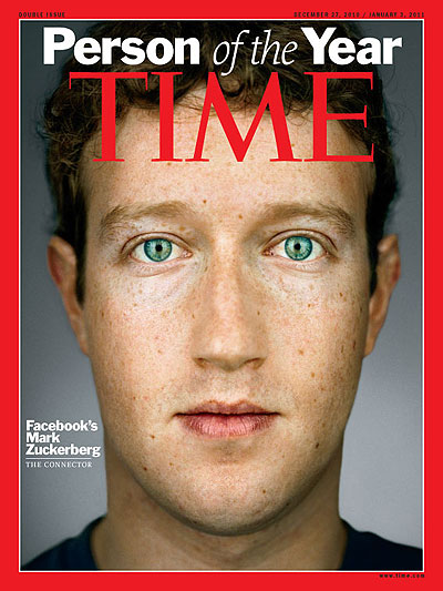 A close-up photo of Mark Zuckerberg