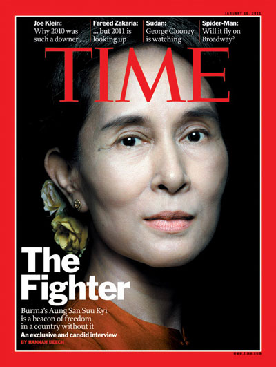 Appearing on the front cover of TIME magazine shows just how prominent of a political figure she is