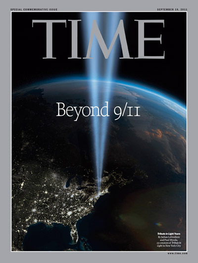 TIME Magazine Cover: Beyond 9/11 -- Sep. 19, 2011