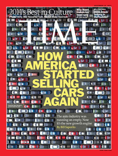 TIME Magazine Cover: How America Started Selling Cars Again -- Dec. 19, 2011