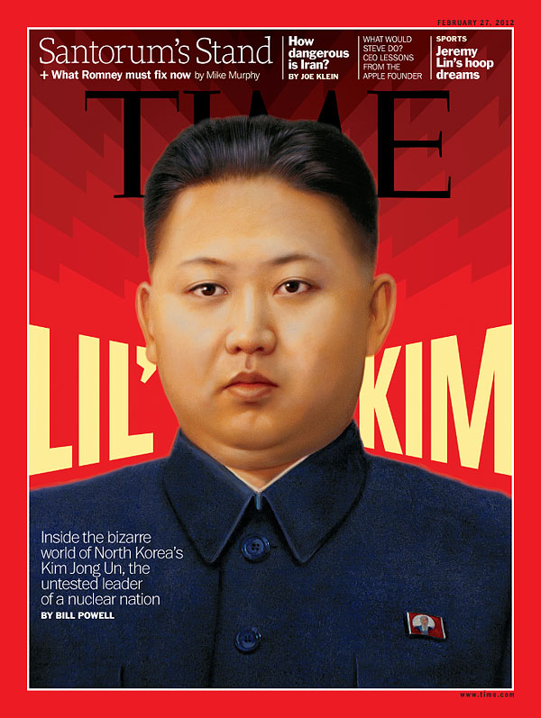 A photo illustration of Kim Jong Un