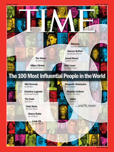 The World's 100 Most Influential People: 2012
