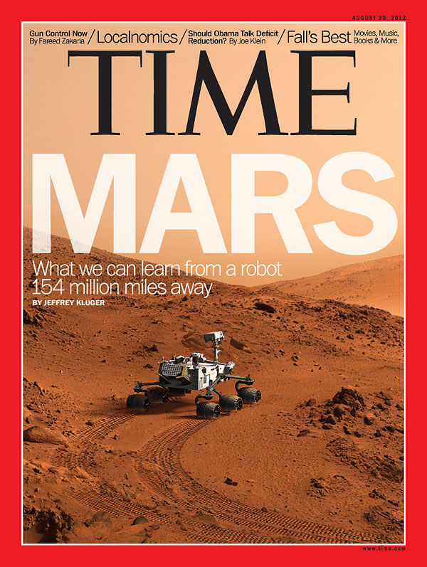 Mars Rover on Mars