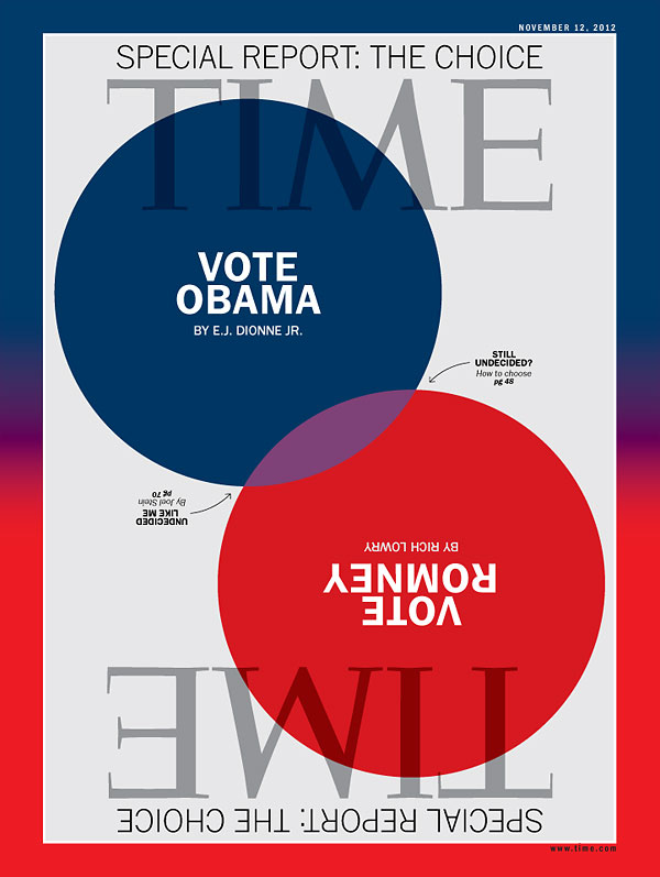 Blue and Red Venn Diagram