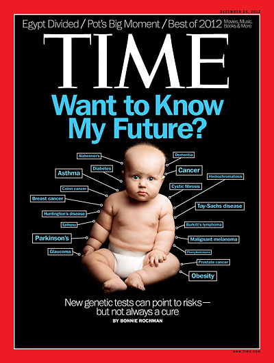 December 24, 2012 Time Cover