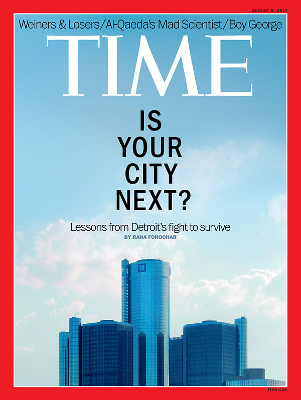 Business Book Cover Archive : Time magazine cover is your city next aug