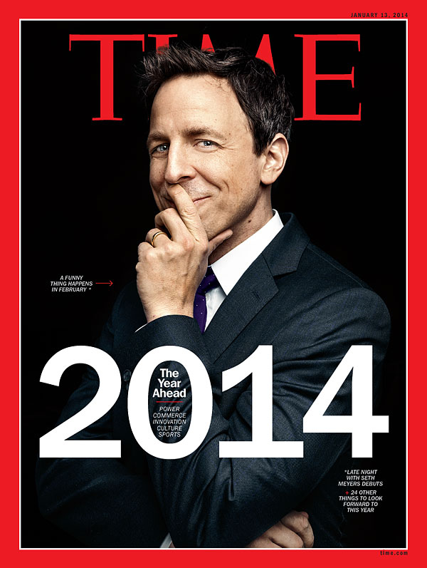 A portrait of Seth Meyers