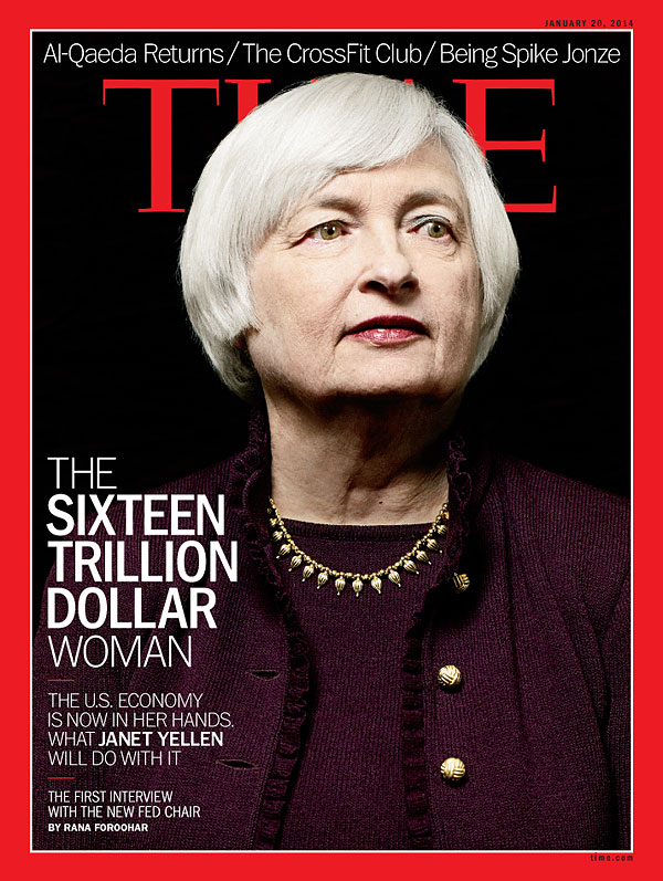TIME Magazine Cover: The Sixteen Trillion Dollar Woman - Jan. 20 ...