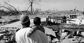 hurricane katrina and the levee system essay Hurricane katrina: a calamity  after hurricane betsy, the levee system was modified to withstand the force of a category three hurricane, but katrina, when it hit.