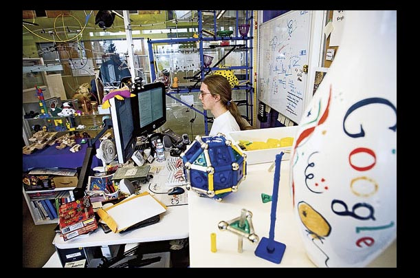 TIME Photo Essay: Life in the Googleplex: Inside Google Headquarters