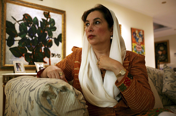 Benazir Bhutto assassination Pakistan Death
